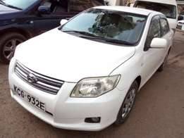 Toyota Axio 2008 Locally Used For Quick Sale Asking Price 900,000/=