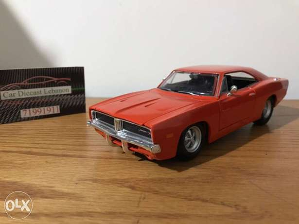 diecast 1/24 scale charger