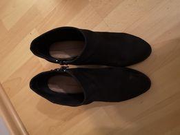 Buty damskie botki Fullcircle czarne rozmiar 36 Skarżysko
