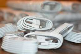 Original Iphone 5/6 Lightning Charger Cables - 100 Available