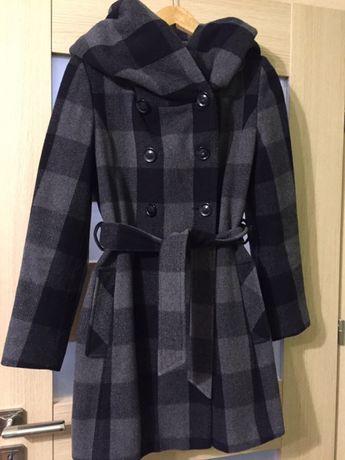 Jesionka płaszcz jesień zima Cora Gawolin rozmiar 34 wełna