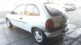 opel corsa lite 130i low 165000km very light on fuel immaculate condit