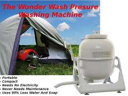 Sputnik camping washing machine in excellent condition.Great water sav