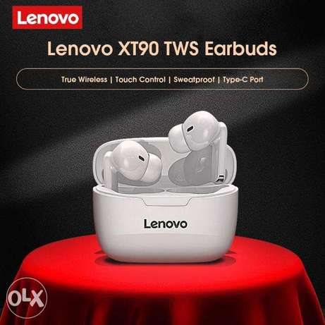 Lenovo Wireless Earphone XT90 TWS Bluetooth 5.0 Touch Button 300mAh الرياض -  7