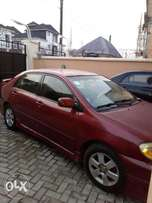 Nigerian Used 2006 Toyota Corolla Sport for Sale