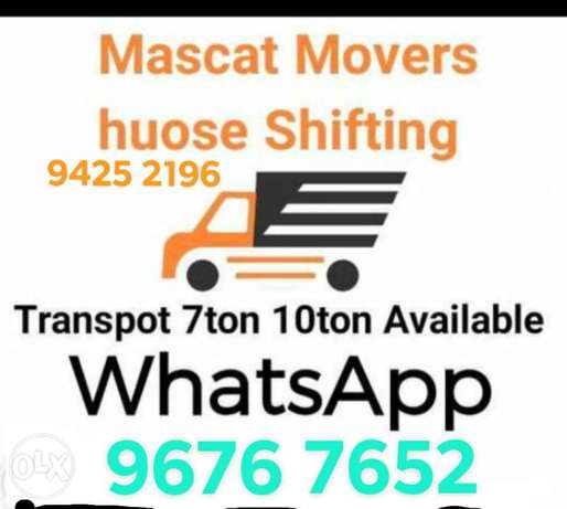 We have best team of Movers Packers and Carpenters. We have 3 ton 7 an