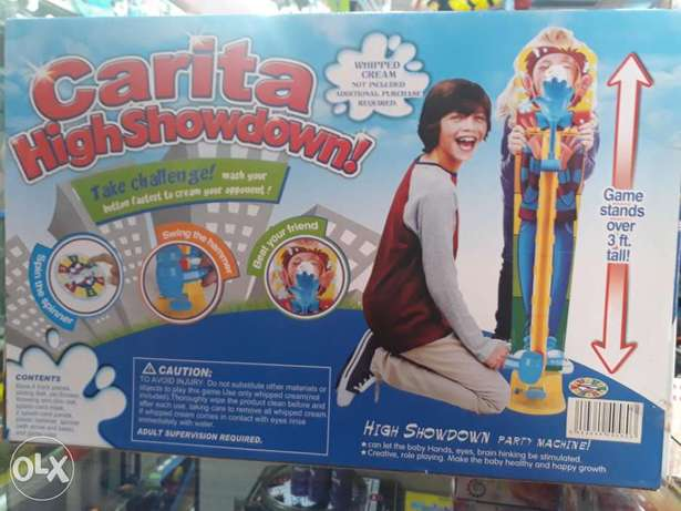 carita highshowdown kids games