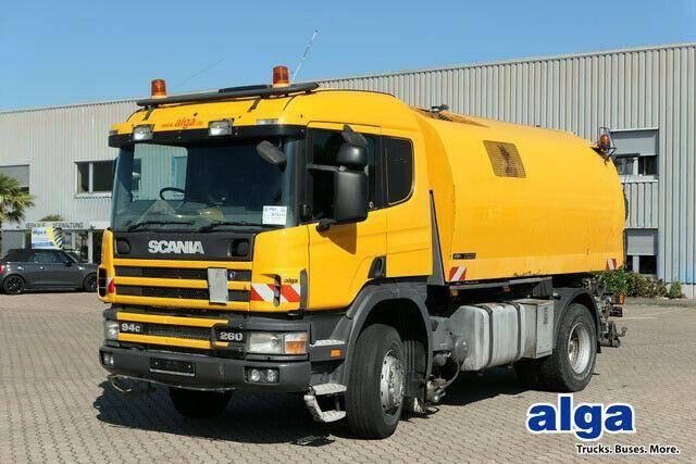 Scania Stra?enkehrmaschine,Bucher Schorling OPTIFANT 70 - 2003