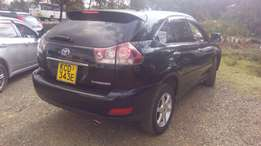 Toyota Harrier 2008 Model Leather interior Fully loaded