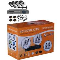 Hot Item - Complete 4 Channel D.I.Y CCTV Kit with HD Cameras