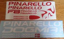 Pinarello frame & rim decals stickers