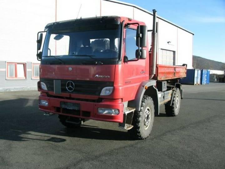 Mercedes-Benz 1023 Atego 4x4 *Single Bereifung* - 2005