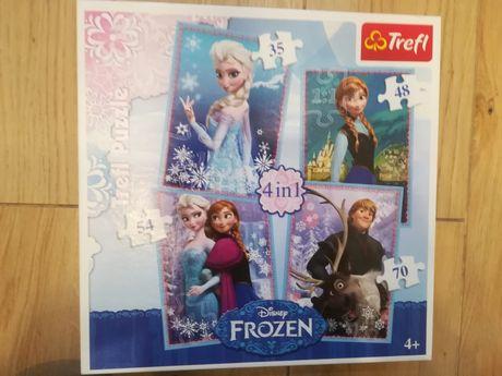 Puzzle Frozen świnka Peppa Kot Prot Kędzierzyn Koźle śródmieście