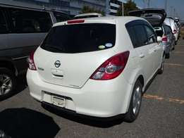 Nissan tiida hatchback at 700k