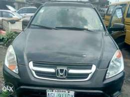 A clean registered honda CRV for sale, 2004 model