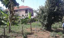 80x140 plot on sale just 70 meters from main road entebbe