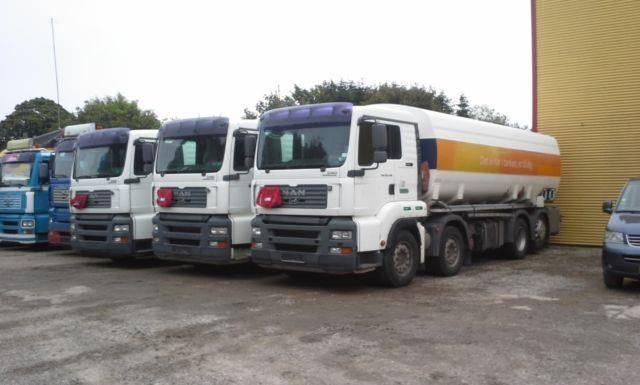 MAN 35.430 TANK 24000 L Tank ADR Fuel - 2005