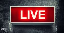 Live streaming (live broadcast)