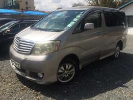 Toyota Alphard double sunroof Tv Just buy and drive