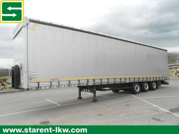 Koegel Megatrailer,Hubdach,SAF,XL-Zertifikat - 2014