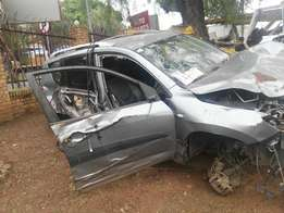 Stripping Toyota Rav4 for Spare Parts