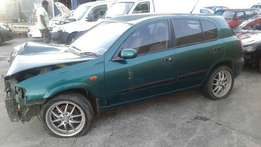 2001 Nissan Almera 1.8 Elegance Stripping for spares