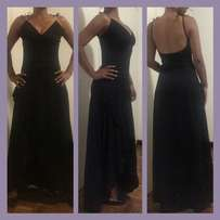 Black evening dress for sale (size 34)