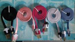 Charging cables (Samsung and blackberry)