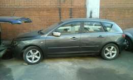 Mazda 3 spares for stripping