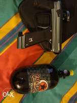 Paintball marker: macdev drone 2 plus extras