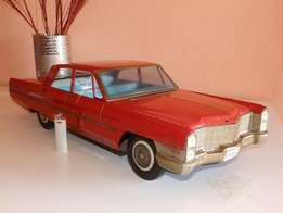 Cadillac Coupe Friction Car - 1965 Scale 1:8 - 26 inch long