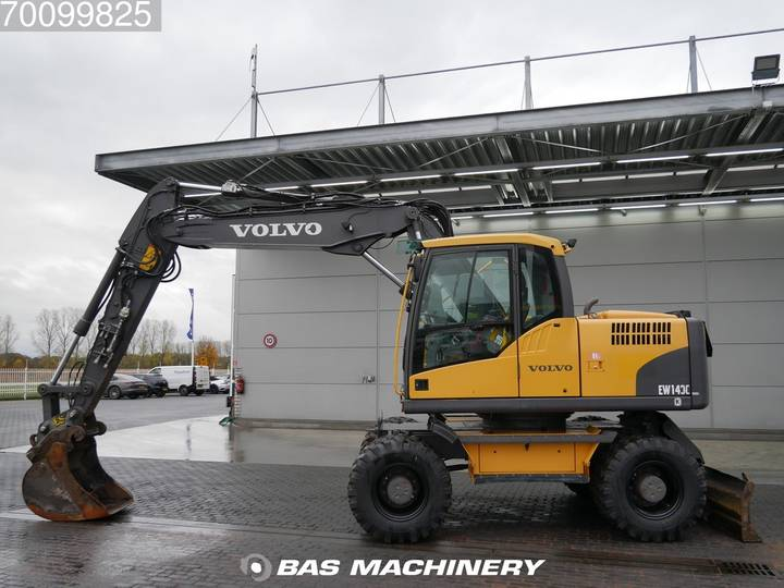 Volvo EW140C New tyres - all functions - 2010 - image 5