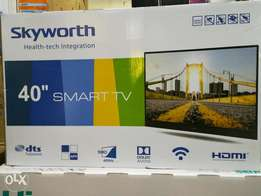 40 inch skyworth smart TV with wifi