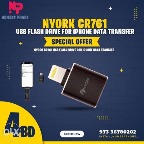 4BD Special Price NYORK CR761 USB Flash Drive for iPhone Data Transfer