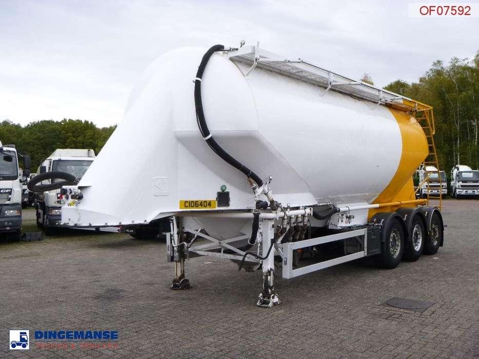 Feldbinder Bulk tank alu 36 m3 / 1 comp - 2000