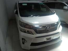 White New Toyota Vellfire 2009 2WD at2.4