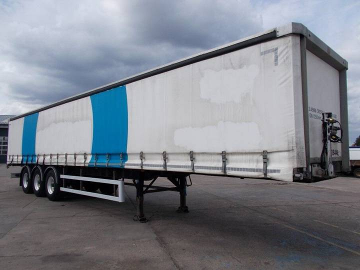 SDC 45FT CURTAINSIDE TRAILER- C264324 - 2008