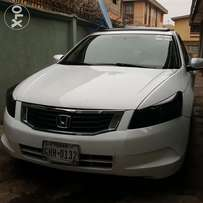 Sparkling white firstbody Toks 08 HONDA ACCORD