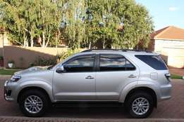 Toyota Fortuner 2012 D4D Automatic.Very Good Condition.