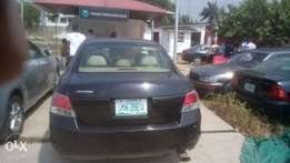 Registered 2008 V4 HONDA ACCORD-