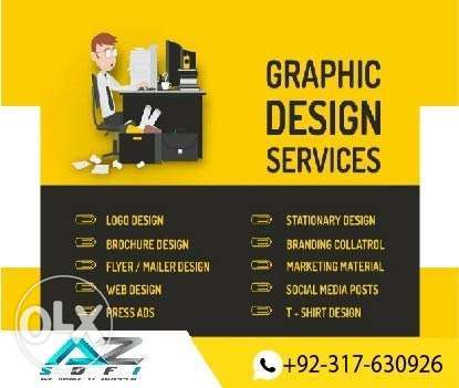 We do every type of graphic design services