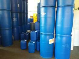 Plastic drums and containers