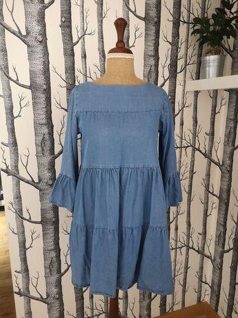 Sukienka oversize ZARA r. 34 (XS) Warszawa Bemowo • OLX.pl