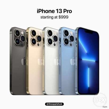 IPhone 13 / iPhone 13 Pro Pre-Order