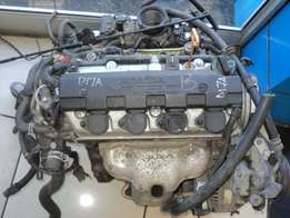 honda civic 1.7 vtec engine D17A R20000nnn