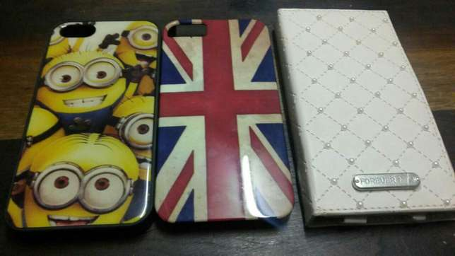 IPhone 5 Covers. 50r for all 3 Mowbray - image 1