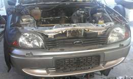 2003 Ford fiesta 1.3i rocam bonnet and front bumper