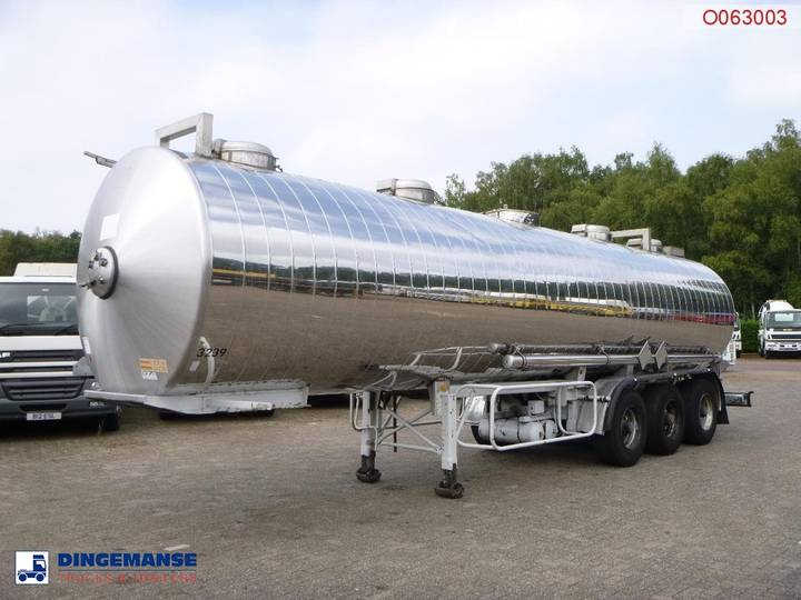 Maisonneuve Chemical tank inox 32.5 m3 / 1 comp - 1993
