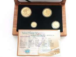Gold coin collector sets