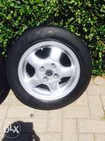 "14"" Vw mags and tyres for sale"